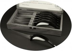 Coffret de couteaux de table prestige