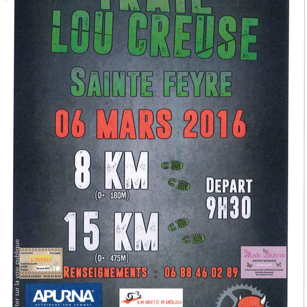 Affiche TRAIL LOU CREUSE